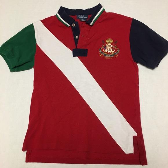 081a7573 Kids vintage polo Ralph Lauren big pony polo shirt.  M_5a5e3b5250687c3c617a8a09